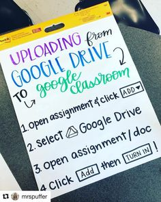 Stormye's ( anchor charts give me LIFE! They are not only B-E-A-UTIFUL, but they are also so practical for the… - Daily Good Pin Google Classroom, School Classroom, Classroom Ideas, Future Classroom, Online Classroom, Classroom Displays, Google Drive, Teaching Technology, Technology Integration