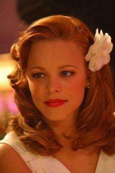 Rachel McAdams in the Notebook.