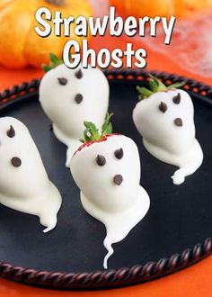 Strawberry Ghosts Spooktacular Halloween treats | Lunds and Byerly's Blog #Halloween