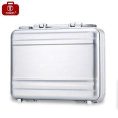 34c99121ff384 Adam iş ataşesi vaka avukat toolbox için alüminyum evrak laptop 15 inç