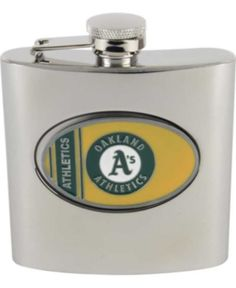 I'm learning all about Great American Products Oakland Athletics MLB 6oz Stainless Steel Flask at @Influenster!