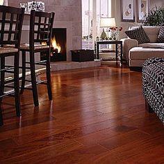 cherry hardwood floors - want for my floors!