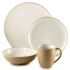 Buy Noritake® Colorwave 4-Piece Place Setting in Suede from Bed Bath & Beyond