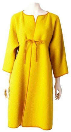 That color! This Bonnie Cashin coat from the 1960s is still a thing of beauty.