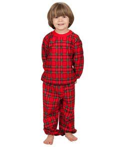 Tom & Jerry Christmas Morning Plaid Pajama