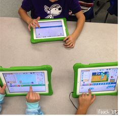 Hour of Code ideas and resources, including code.org and the free iPad app Scratch Jr.