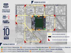 Información de accesos a la Boutique para el amistoso Club Atlético Talleres  Para este viernes a las 17 hs la Boutique será habilitada para un total de 10.000 socios con la siguiente distribución:   4.500 ubicaciones en la Tribuna Este  1.500 ubicaciones en la Popular Calle Olimpia  1.500 ubicaciones en la Popular Calle Lawson  2.500 ubicaciones en la Platea Oeste  Desde un par de horas antes se realizarán 8 cortes de tránsito en calles aledañas al Estadio y los colectivos que circulan por…