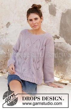e21b425f0a3 Новинка из коллекции Drops весна/лето 2019. Свободная модель женского  пуловера