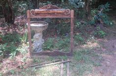 """Antique Hand Carved Wooden MIRROR FRAME Vtg  45"""" x 37""""x 2 1/2"""" thick Heavy Old #Victorian #UNK"""