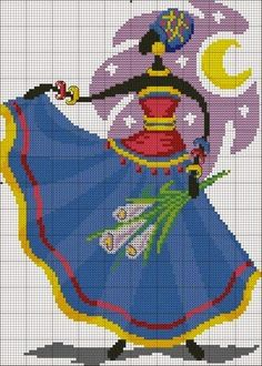 MAGIC CROSS STITCH: QUADRO ETNICO