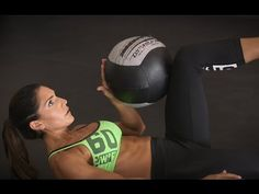 To develop six-pack abs, you need to combine core stability moves with definition-targeted exercises. Alexia Clark incorporates both in this easy, three-move workout. By adding the weight of dumbbells and a medicine ball, you'll get stronger and more defined abs fast.