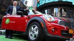 Avis budget car hire buys the world's biggest car-sharing firm, Zipcar, for three hundred and seven million pounds.
