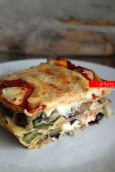 Lasagne vegetariane Veg Recipes, Pasta Recipes, Italian Recipes, Cooking Recipes, Cooking Tofu, Vegetarian Cooking, Vegetarian Recipes, How To Cook Meatloaf, How To Cook Pork