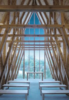 Arkansas' Thorncrown Chapel Is The Glass Church In The Woods 'So Close To God' (PHOTOS) | The Huffington Post