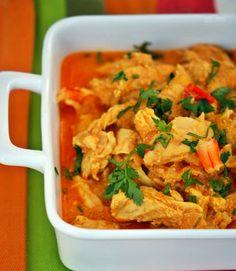Caril de frango e camarão 2