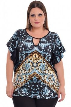 Blusa Plus Size Raphaela