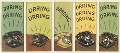 Phones from Hergé's Tintin