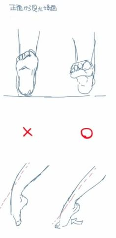 足首の可動域