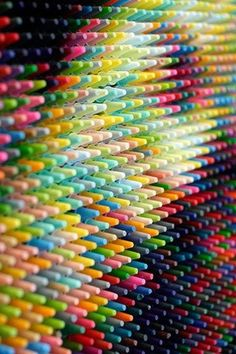 Artist: Christian Faur Aside from the fact that I love crayons, this arrangement is very, very cool! sg