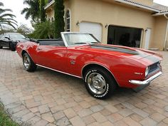 Awesome 1968 Chevrolet Camaro Convertible,ss Package, Stick, 327-v8, No Reserve! - Used Chevrolet Camaro for sale in Miami, Florida | Trucks2Cars.com