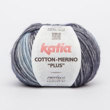 Blend of cotton and jaspe merino in cool muted tones. Cotton-Merino Plus adds elegance to long jackets and fine autumnal jumpers. Beautiful yarn for making comfortable crochet Cotton - Merino Extrafine Fall Winter, Autumn, Crochet Poncho, Knitted Hats, Cotton, Yarns, Colors, Spring, Trends