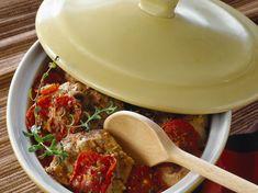 Découvrez la recette Osso bucco dinde à la moutarde sur cuisineactuelle.fr.