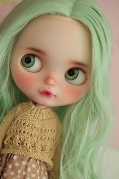 Etsy の Eyechips for Blythe dolls by Donna No.R-20 by Moctopus