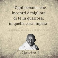 """""""Every person you meet is better than you in something; in that thing he learns"""" I Gandhi l  Ispirational Quotes, Yoga Quotes, Happy Quotes, Positive Quotes, Best Quotes, Life Quotes, Positive Vibes, Favorite Quotes, Yoga Teacher Quotes"""