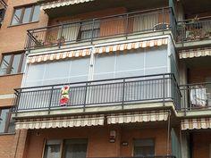 Tenda veranda doppio rullo estiva e invernale (7)