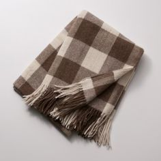Llama Check Throw Blanket | Schoolhouse Electric & Supply Co.
