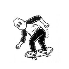 Illustration by adedewo #skate #fun #powerslide