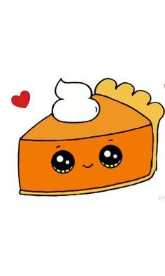 Kawaii Pumpkin Pie ♥️