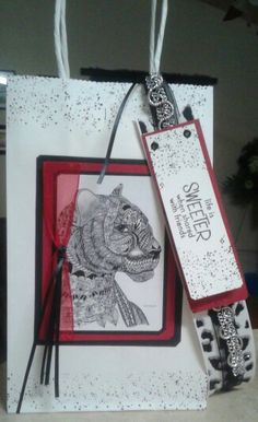 Gift bag with bookmark :)