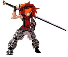 Gladiator Male from Etrian Odyssey III: The Drowned City