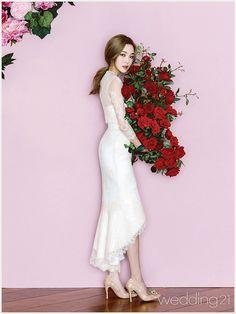 '빛의 속삭임' 을 컨셉으로 한 뉴 샘플 Wonderland, Dresses With Sleeves, Studio, Long Sleeve, Interior, Wedding, Style, Fashion, Valentines Day Weddings