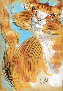 Aky's art: Cat & Dog