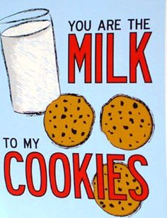 milk to my cookie