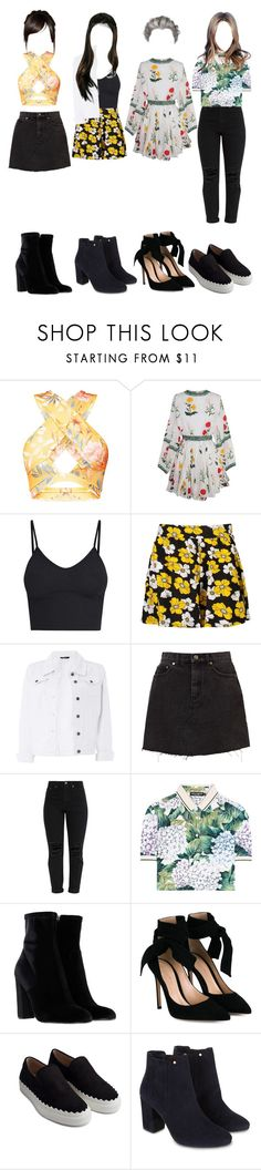 """""""Fifteen"""" by official-4squad ❤ liked on Polyvore featuring Boohoo, Dorothy Perkins, Dolce&Gabbana, Steve Madden, Gianvito Rossi, Chloé and Monsoon"""