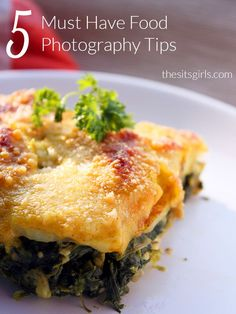 Photography Tips | Five tips will help you take your food photography to the next level, which is especially important for bloggers who want to share recipes.