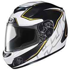 HJC CL-X7 Cross Up Full-Face Off Road Motorcycle Helmet Blue//Yellow, XX-Large