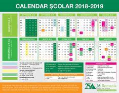 Calendarul anului școlar 2018-2019: structura anului școlar 2018-2019 | JA Romania Calendar 2018, Periodic Table, Desktop, Literatura, Periodic Table Chart, Periotic Table