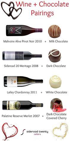 Best Wine & Chocolate Pairings. Buy wine online at sr20.ca.