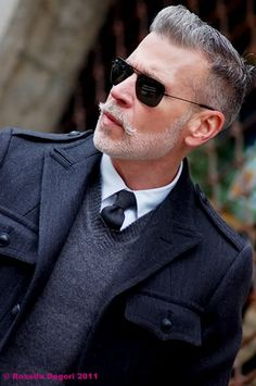 Nick Wooster: Men's fashion director for Neiman Marcus, street fashion icon, and all-around man's man