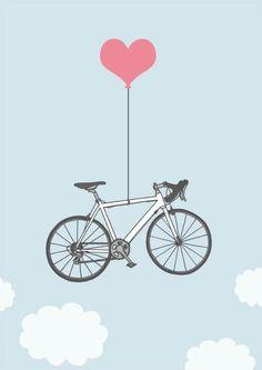 Bike love - this looks like my bike, The Lady Meredith! :)