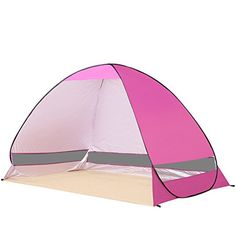 Ylovetoys Outdoor Automatic Pop up Instant Beach Tent Camping Fishing Hiking Picnicing Anti UV Shelter *** Click image for more details.