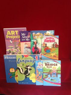 Abeka  Language 1 workbook, History, Health, Art, Reading, Homeschool / School #TextbookBundleKit
