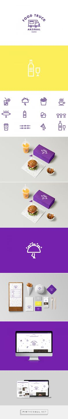 The Woork Co › Arzábal Food Truck Branding & Website - created via https://pinthemall.net