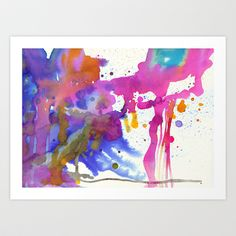 My summer colors Art Print by Ninola