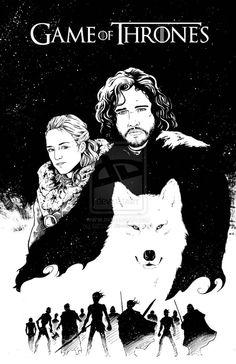 Jon Snow by ~BESTrrr on deviantART