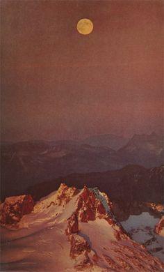 Glacier Peak Wilderness, Washington State, 1971 (National Geographic).